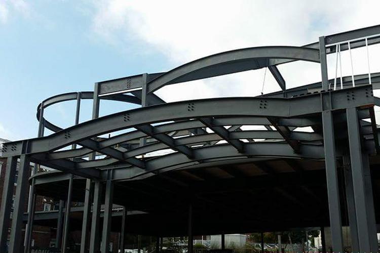 Fabrication et installation d'une structure d'acier_ecole privee Hillel_Groupe AESP